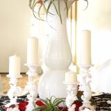 Exemple de location pour Vase Spectaculaire, Sous-Assiettes, et Chandelles
